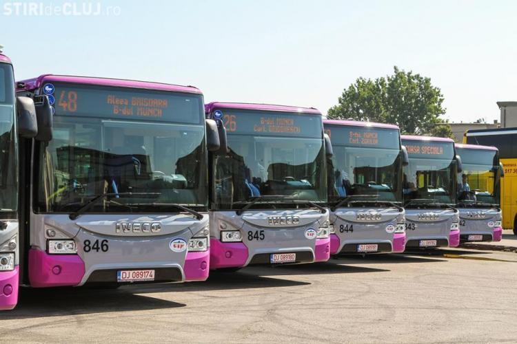 Aplicație SMART pentru transportul în comun din Cluj-Napoca