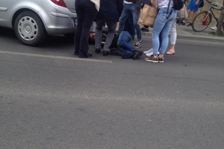 Polițistul rănit la Cluj are nevoie de sânge