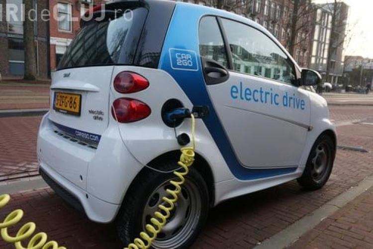 Clujul cumpără trei mașini electrice pentru Poliția Locală