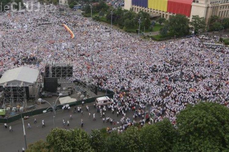Mitingul PSD, relatat în presa străină: Un miting împotriva abuzurulor justiției, organizat de oameni cu probleme de corupție
