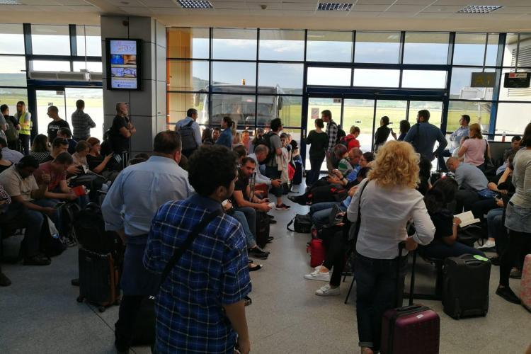Aeroportul Cluj este supraaglomerat. Succesul are un dublu tăiș - FOTO