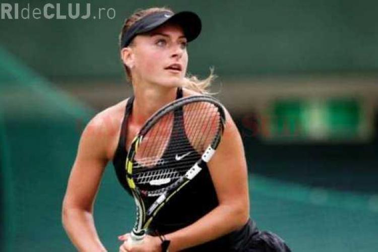 """Ana Bogdan, numită """"Revelația lunii"""" în tenisul feminin"""