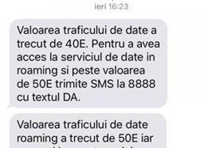 Clujeancă REVOLTATĂ pe Vodafone. Trebuie să plătească 50 de euro, după ce i s-a activat roamingul de Ucraina