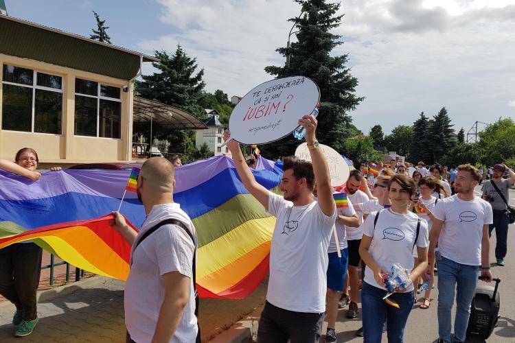 Parada Gay din 2018 de la Cluj nu are voie în centrul orașului. Care va fi traseul marșului din 23 iunie