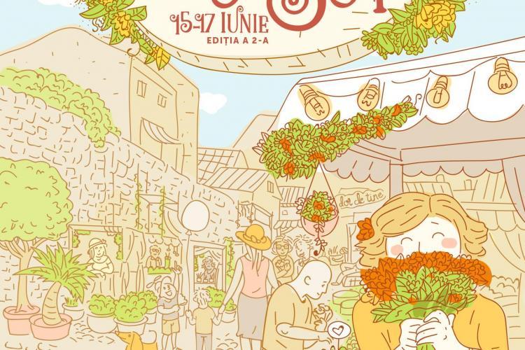 Piața de Flori revine pe strada Potaissa