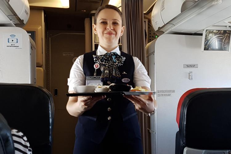 Turkish Airlines vrea să DEZVOLTE zborul Cluj - Istanbul. Cum a fost zborul cu ei și ce planuri au - FOTO