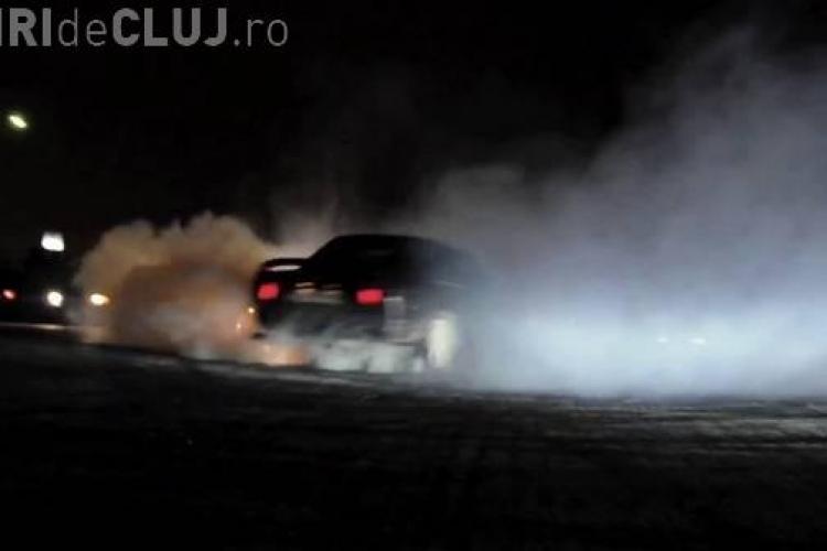 Drifturi pe stradă la Florești. Un tânăr s-a ales cu dosar penal