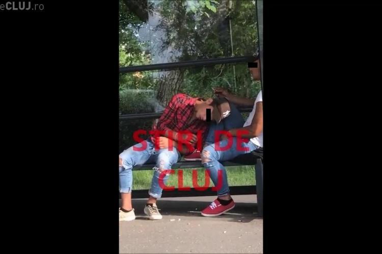 Cluj: Drogați aproape leșinați în stația de lângă Cluj Arena - VIDEO