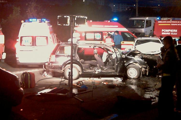 Accident grav la Negreni! Patru persoane au fost ranite