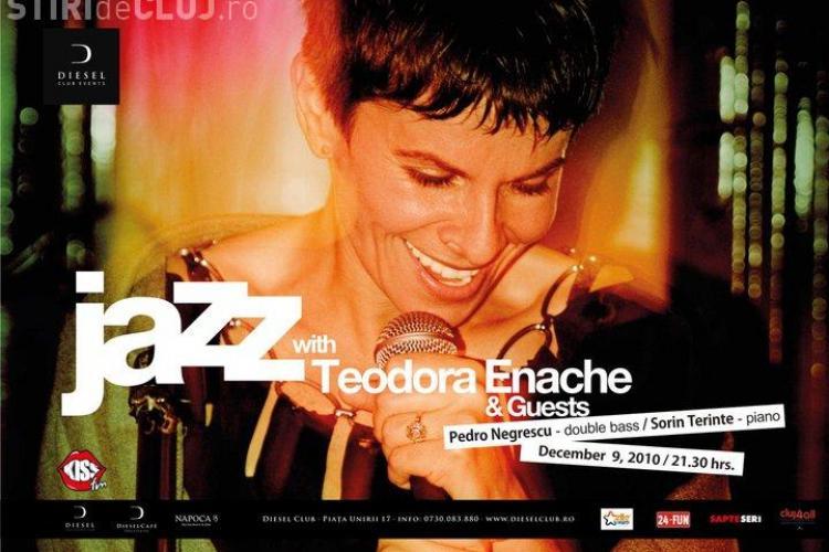 Concert Teodora Enache & Guests, la Cluj, joi seara