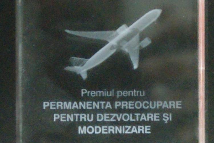 Premiu international pentru Aeroportul International Cluj