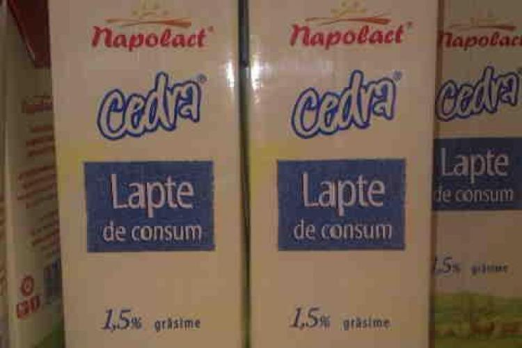 """Protectia Consumatorilor Cluj: Napolact foloseste o reclama mincinoasa! """"Lapte din inima Ardealului"""" este de fapt lapte din Ungaria - VIDEO"""