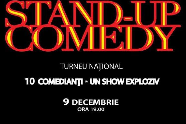 Maraton de Stand-Up Comedy, la Casa de Cultura a Studentilor Cluj
