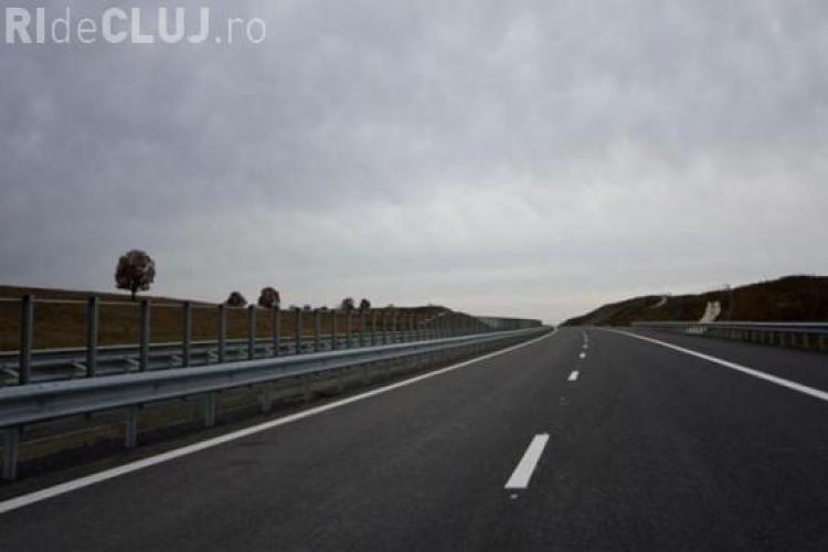 Accident pe autostrada Transilvania, la breteaua de acces de la Turda