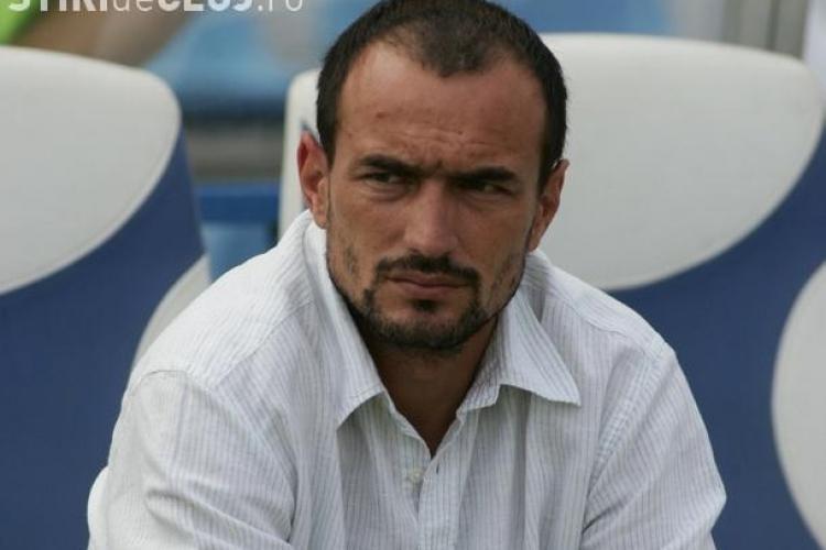 Noul antrenor al Universitatii Cluj, Ionut Badea, va fi prezentat oficial joi