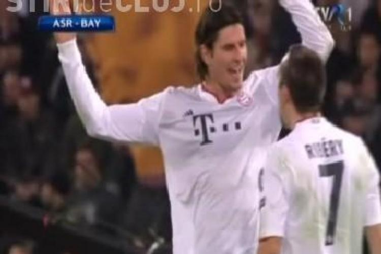 AS Roma - Bayern Munchen 3-2! REZUMAT VIDEO