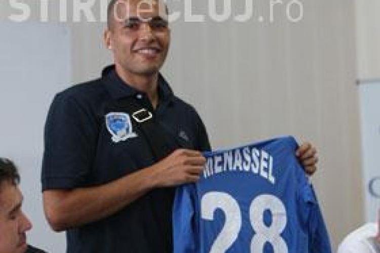Nasser Menassel a semnat cu Universitatea Cluj