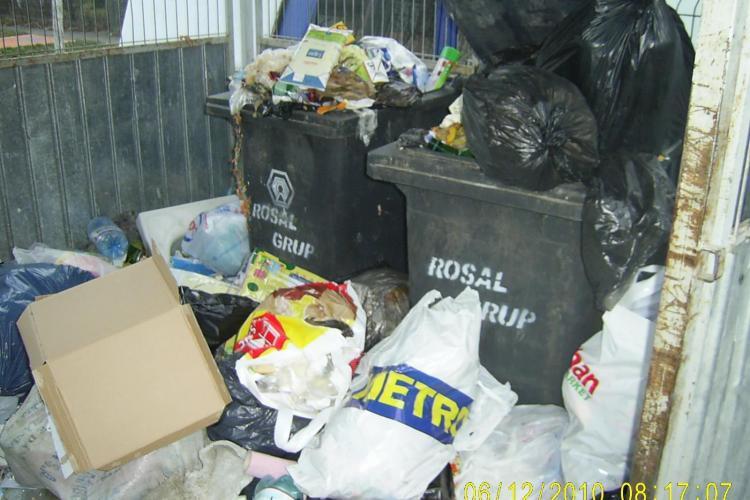 Firma Rosal, acuzata ca nu aduna gunoiul menajer in Manastur! Sorin Apostu: Sa fiti multumiti cu cat face - FOTO