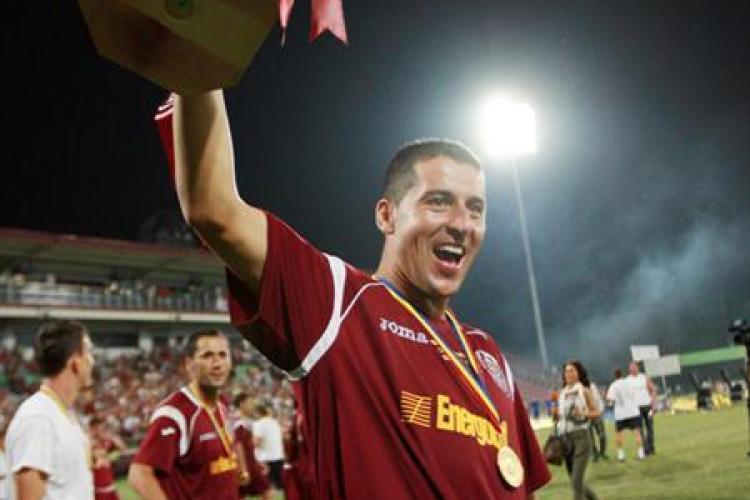 Cristian Panin, 200 de meciuri in Liga I cu CFR Cluj