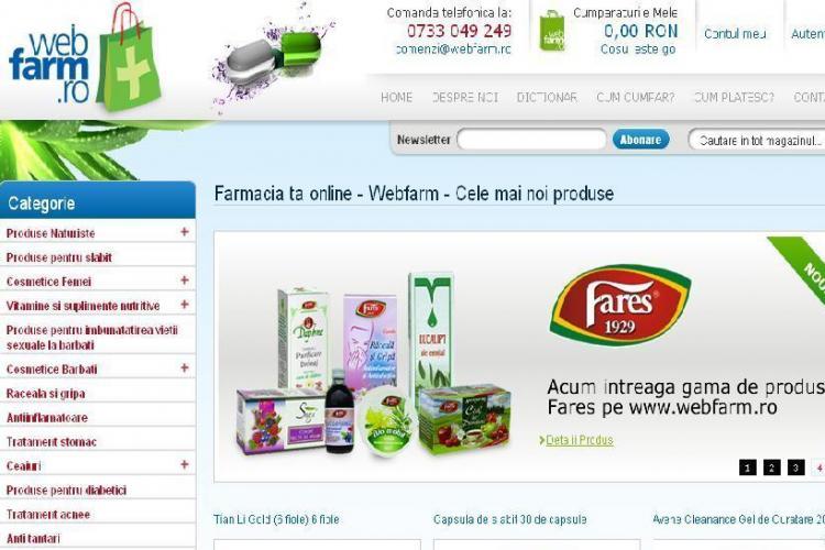 Afaceri de Cluj! Webfarm.ro, prima farmacie online din oras! Cumperi ce vrei cu un singur click - VIDEO si FOTO