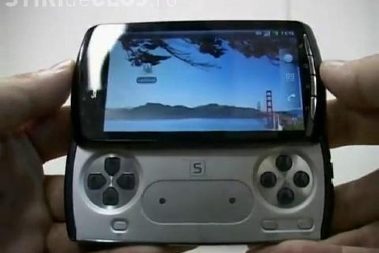 Vezi cum arata telefonul Playstation: Sony Ericsson Zeus! VIDEO si FOTO