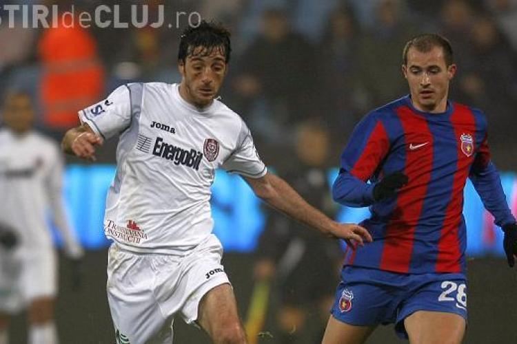 Steaua - CFR Cluj 2-2! Traore a avut victoria in varful bocancului - REZUMAT VIDEO