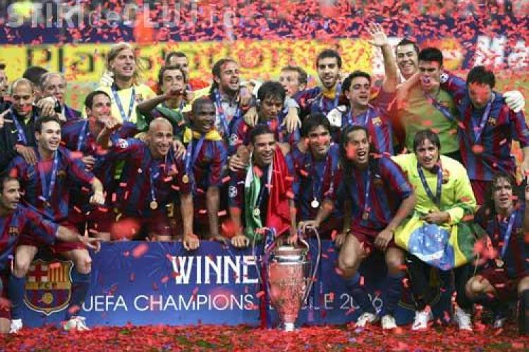 FC Barcelona, cea mai buna echipa europeana din ultimii zece ani. Vezi pe ce loc este CFR Cluj