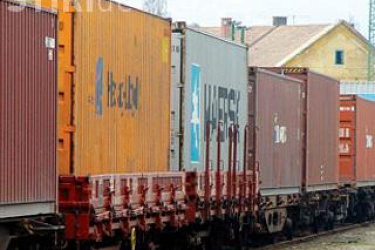 Un tren incarcat cu lemne furate a fost depistat in judetul Cluj