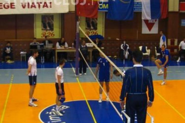 Unirea Dej s-a calificat in 16-imile Challange Cup la volei