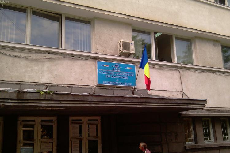 Casa de Asigurari de Sanatate Cluj disponibilizeaza 13 oameni