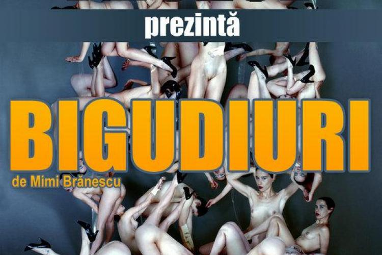 "Teatrul de club va invita la comedia ""BIGUDIURI"", de Mimi Branescu"
