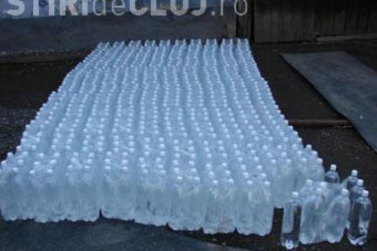 Alcool etilic confiscat in comuna Camarasu, judetul Cluj