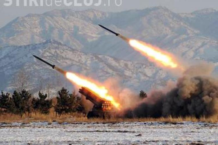 Coreea de Nord a atacat cu obuze o insula sud-coreeana! 13 persoane sunt ranite si una a murit