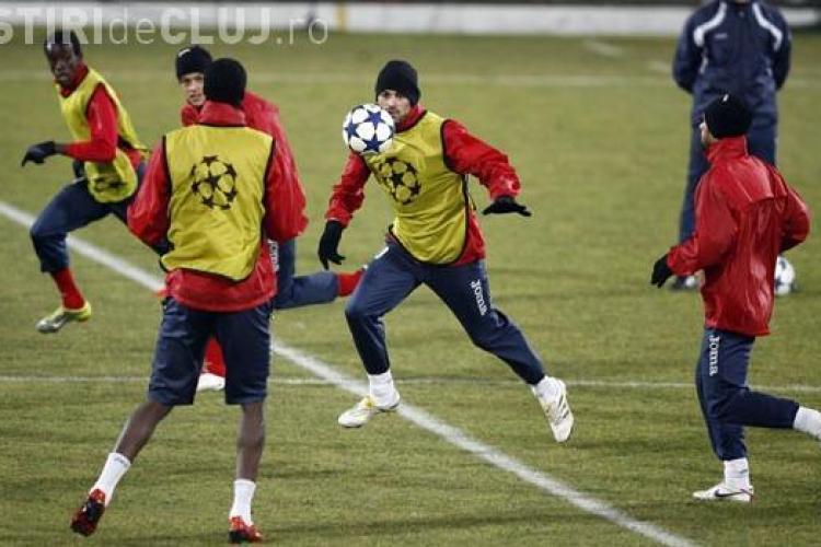 CFR Cluj a facut marti dupa amiaza antrenamentul oficial -  FOTO