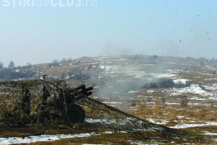 Explozie in poligonul Cincu, judetul Brasov! - BREAKING NEWS