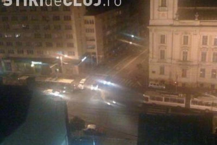 Accident pe strada Petru Maior! Un sofer baut si-a facut praf masina