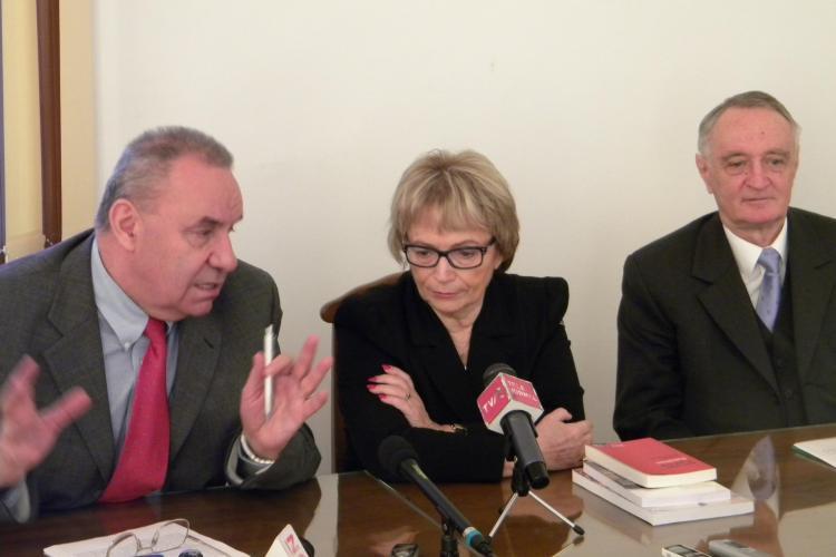Presedintele Comisiei pentru Cultura si Educatie a Parlamentului European discuta la Cluj despre eliberarea dublei diplome