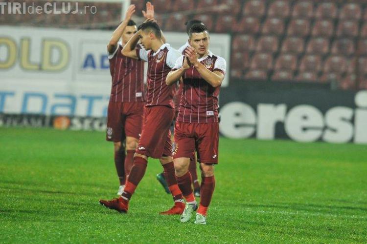 CFR Cluj se desparte de unul dintre jucătorii săi. Laurențiu Rus pleacă din Gruia după doi ani