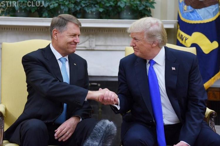 Iohannis se întâlnește cu Donald Trump
