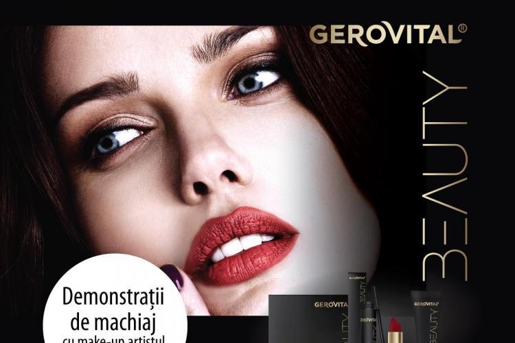 Farmec deschide un nou magazin Gerovital în Cluj-Napoca și oferă demonstrații gratuite de machiaj