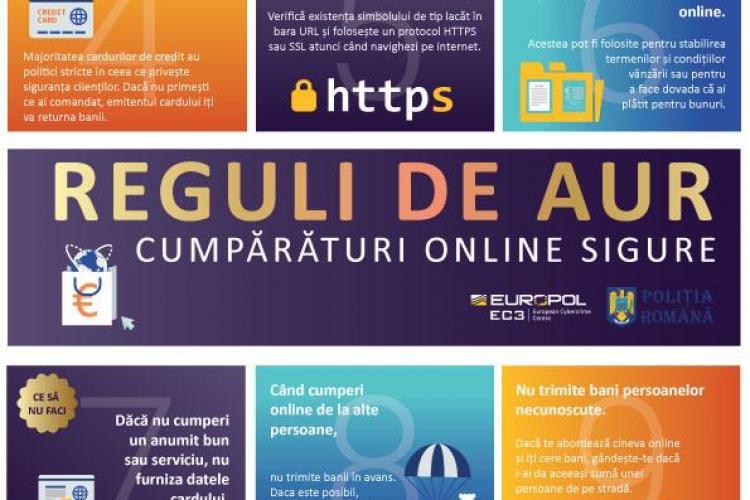 Sfaturile polițiștilor clujeni pentru a evita fraudele online. Ce trebuie să faci