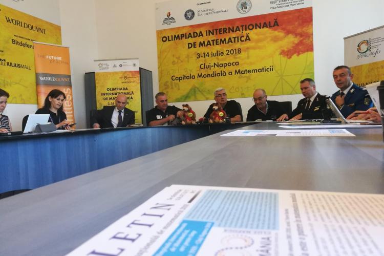 Buget de aproape 1 milion de euro pentru Olimpiada Internațională de Matematică de la Cluj. Vezi care este programul evenimentului