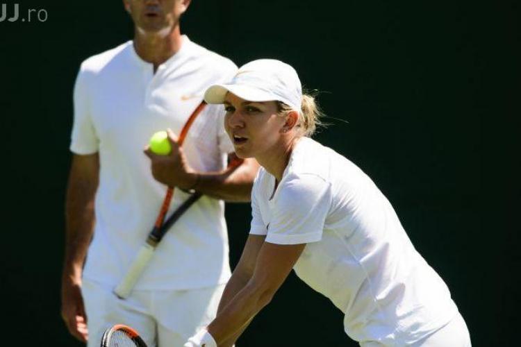 Simona Halep, victorie lejeră în primul meci de la Wimbledon. Ce a spus la finalul partidei