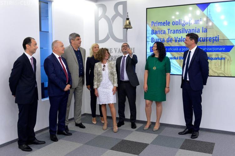 Banca Transilva nia emite pe piață obligațiuni de 258 milioane de euro
