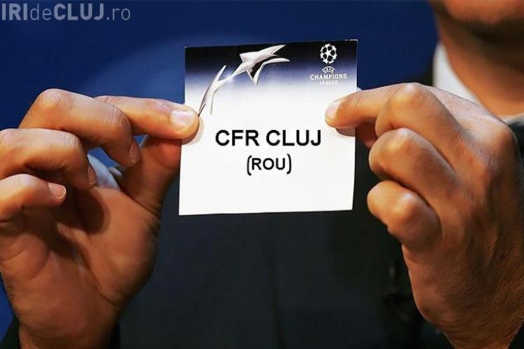 Cu cine va juca CFR Cluj în preliminariile Champions League