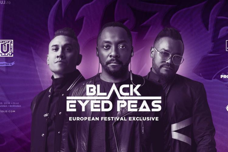 Black Eyed Peas - Concertul anului în Europa are loc în România, la UNTOLD!