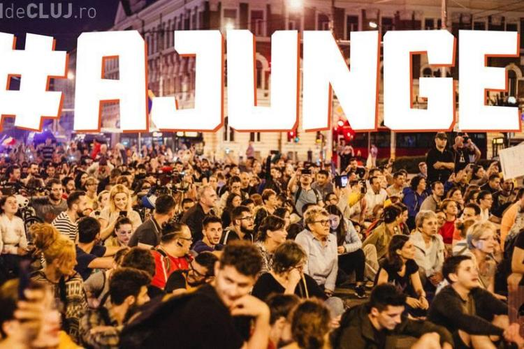 """Clujenii ies în stradă, de la ora 19.00: """"O.U.G 13 revine! Suntem aici și îi vom opri!"""""""
