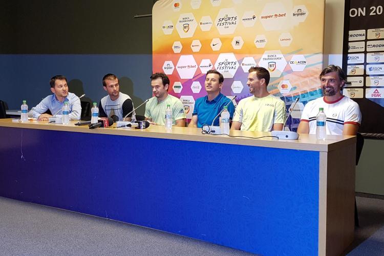 "Regal de tenis la Cluj. Goran Ivanisevic, Michael Carl ""Mike"" Bryan și Andrei Pavel sunt capetele de afiș"