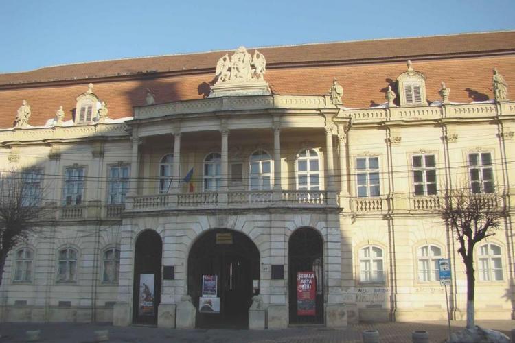 Fațada palatului Banffy, ce găzduiește Muzeul de Artă Cluj, va fi reabilitată - FOTO