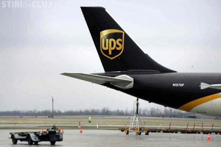 UPS România își extinde operațiunile de transport mărfuri pe Aeroportul Cluj